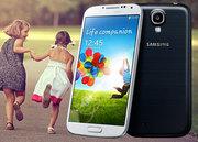 Samsung Galaxy S4  (Silver-66670)