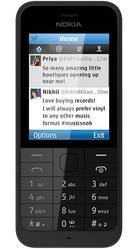 Nokia 220 Black  (Silver-66822)