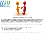 Become an Introducer for MJ Utilities