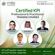 Certified KPI Professional & Practitioner Training Courses