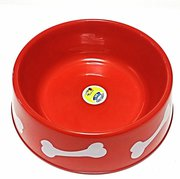 Slow eating dog bowl for making better eating habit